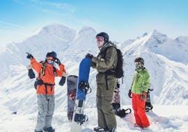Clases de snowboard (a partir de 14 años) en temporada alta