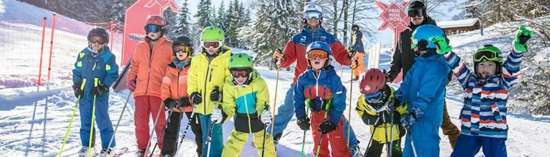 """Ski Lessons """"Weekend"""" for Kids (7-17 years) - All Levels"""