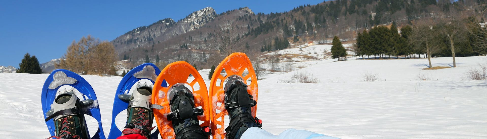 Private Snowshoeing Tour for All Ages & Levels with Adrenaline Ski School Verbier - Hero image