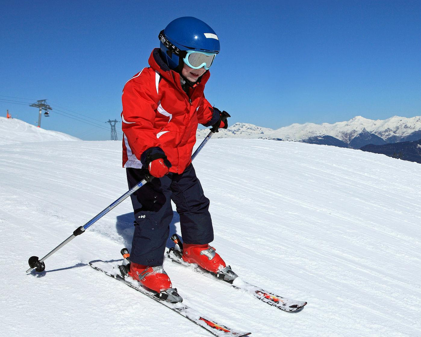 Cours particulier de ski Enfants (4-12 ans) - Tous niveaux