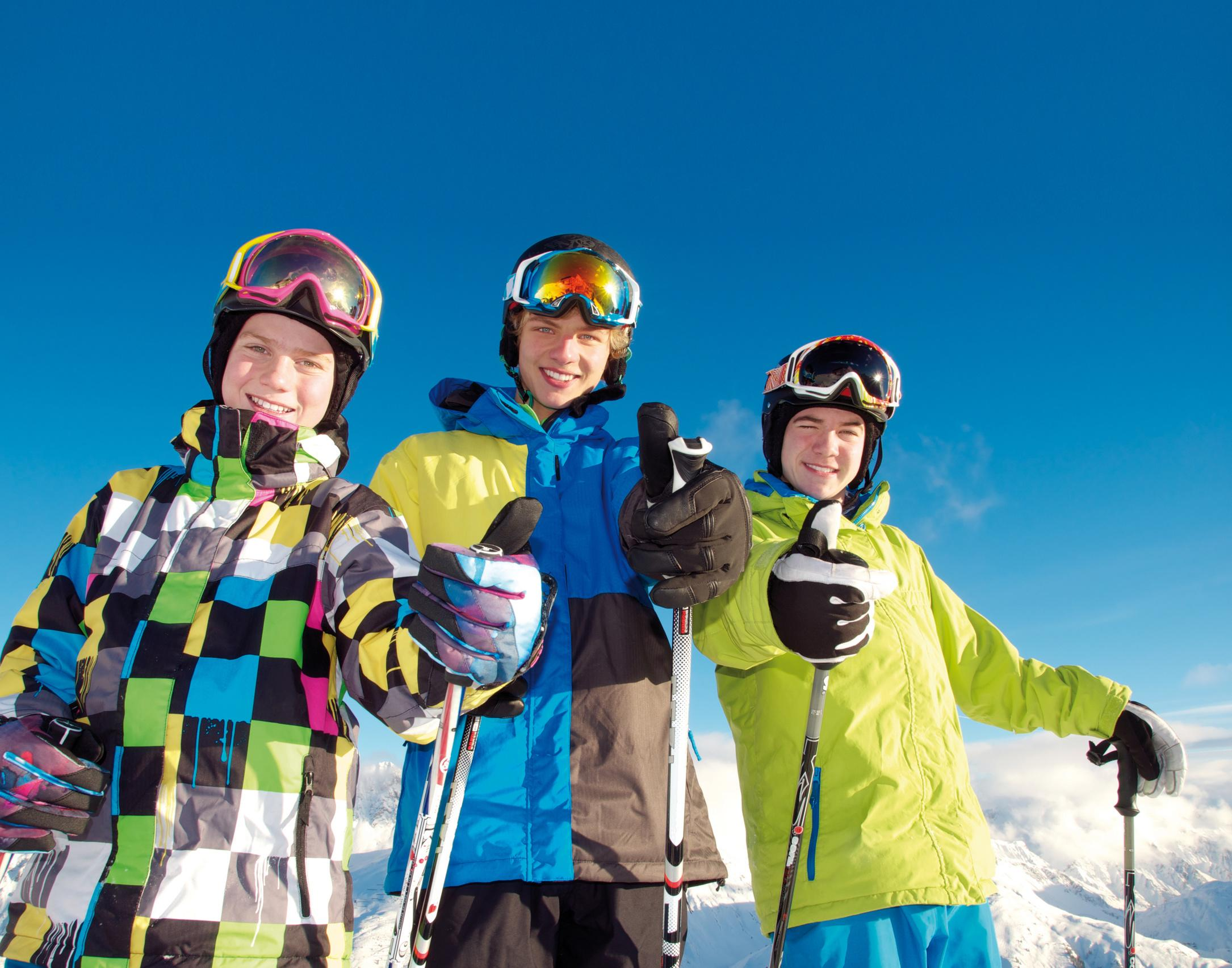 """Skilessen voor kinderen """"Juniorprogramma"""" (15-18 jaar)"""