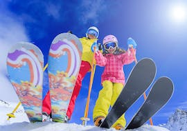 Private Ski Lessons for Kids (from 7 y.) of All Levels