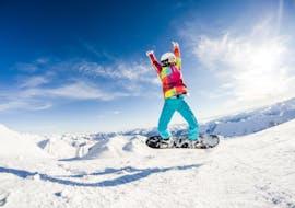 Clases de snowboard privadas a partir de 5 años con experiencia