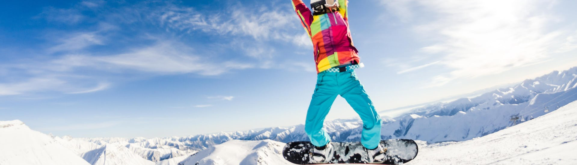 Snowboard Lessons for Kids (from 10y.) & Adults - All Levels