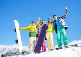 Cours de snowboard pour Tous âges & niveaux
