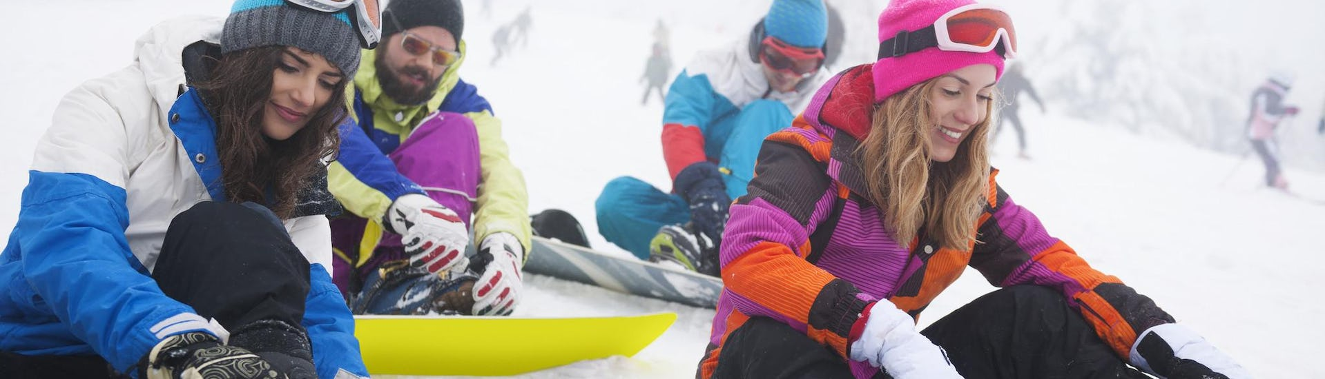 Snowboard Lessons - All Levels & Ages