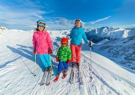 Cours particulier de ski pour les Familles