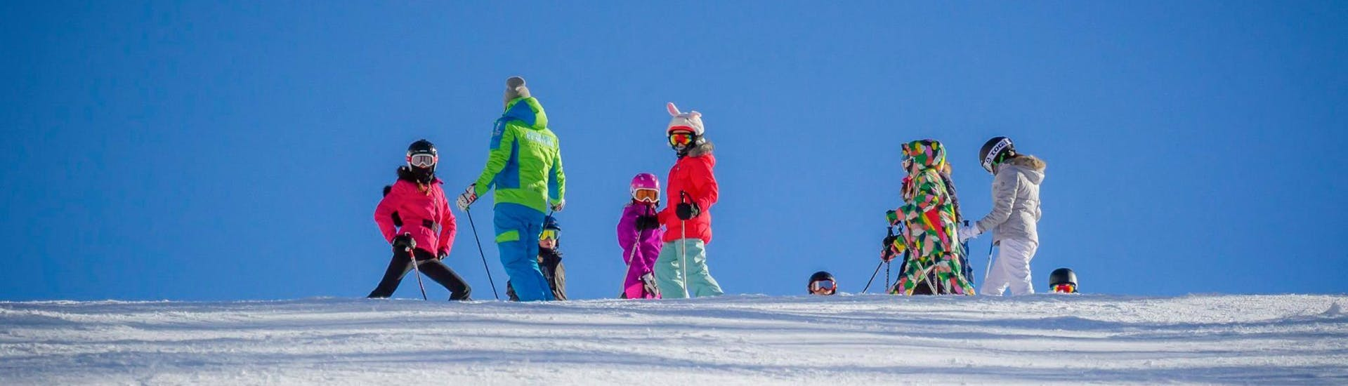 Cours de ski Enfants dès 4 ans pour Tous niveaux avec Scuola di Sci Claviere - Hero image