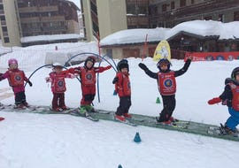 "Ski-Trial Lesson ""Piou Piou"" (3-4 years) - High Season"