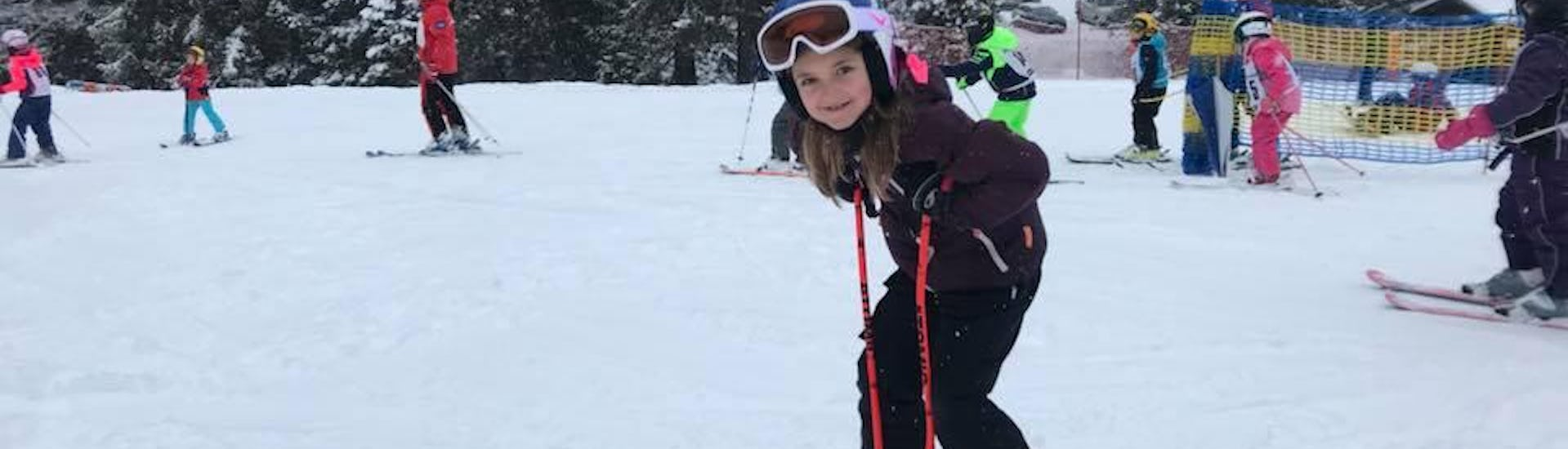 "Ski Lessons ""Miniclub All-in-One"" (3-6 years) - All Levels"
