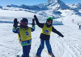 Kids Ski Lessons (6-12 y.) for Beginners - Half Day