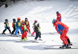 Skilessen voor kinderen vanaf 5 jaar voor alle niveaus met ESF La Plagne