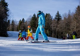 Skilessen voor kinderen vanaf 4 jaar - beginners met ESI Orcières Merlette