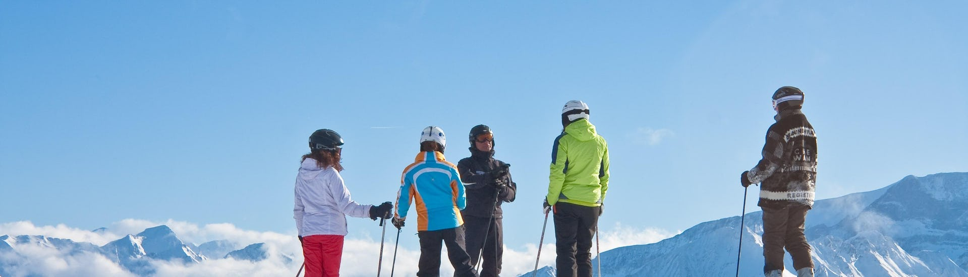 Ski Lessons for Adults - New Year Week - First Timer