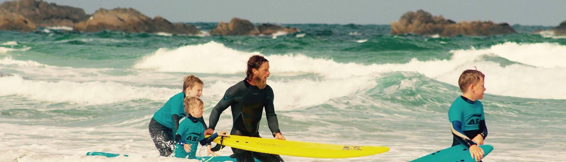 Private Surf Lesson for Families - All Levels
