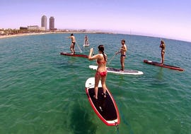 Paddle Surfing Lessons for Kids and Adults - Beginners