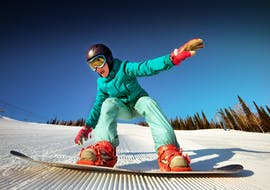 Snowboardlessen vanaf 10 jaar voor alle niveaus