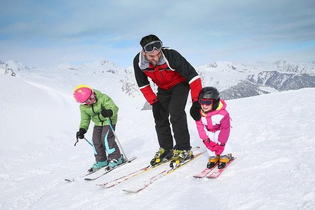 Privélessen skiën kinderen in Lech/Zürs voor alle leeftijd