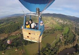 Private Balloon Ride & Tour of Montserrat for Two