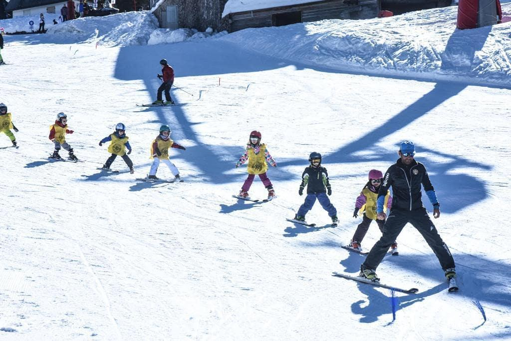 Cours de ski Enfants dès 7 ans - Premier cours