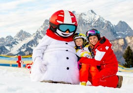"Ski Lessons ""Mini-Valle"" (3-4 years) - Beginners"