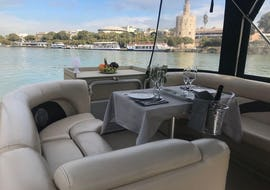 Private Sightseeing Boat Trip with Tapas - Seville