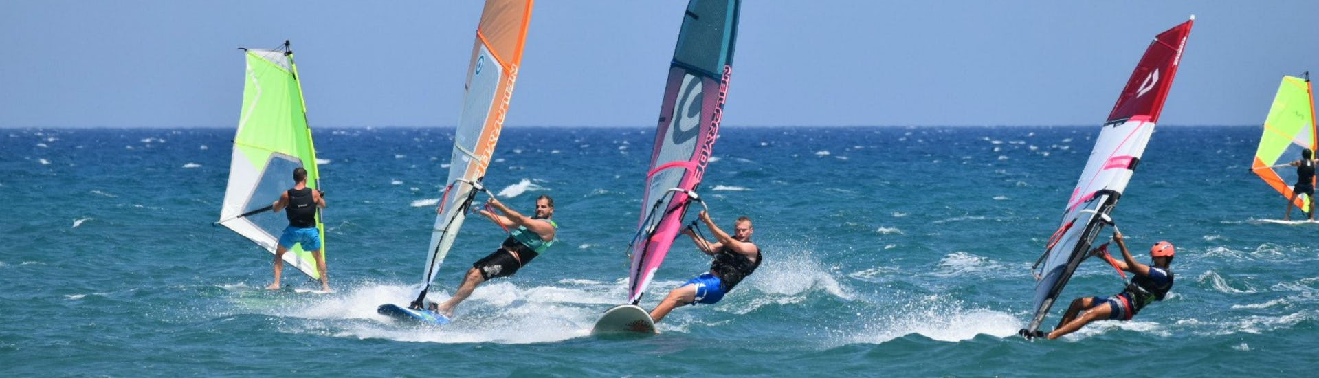 Windsurfing Lessons for Adults - Advanced