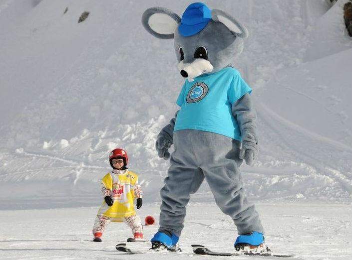 Cours de ski  Enfants (4-6 ans) - Basse saison