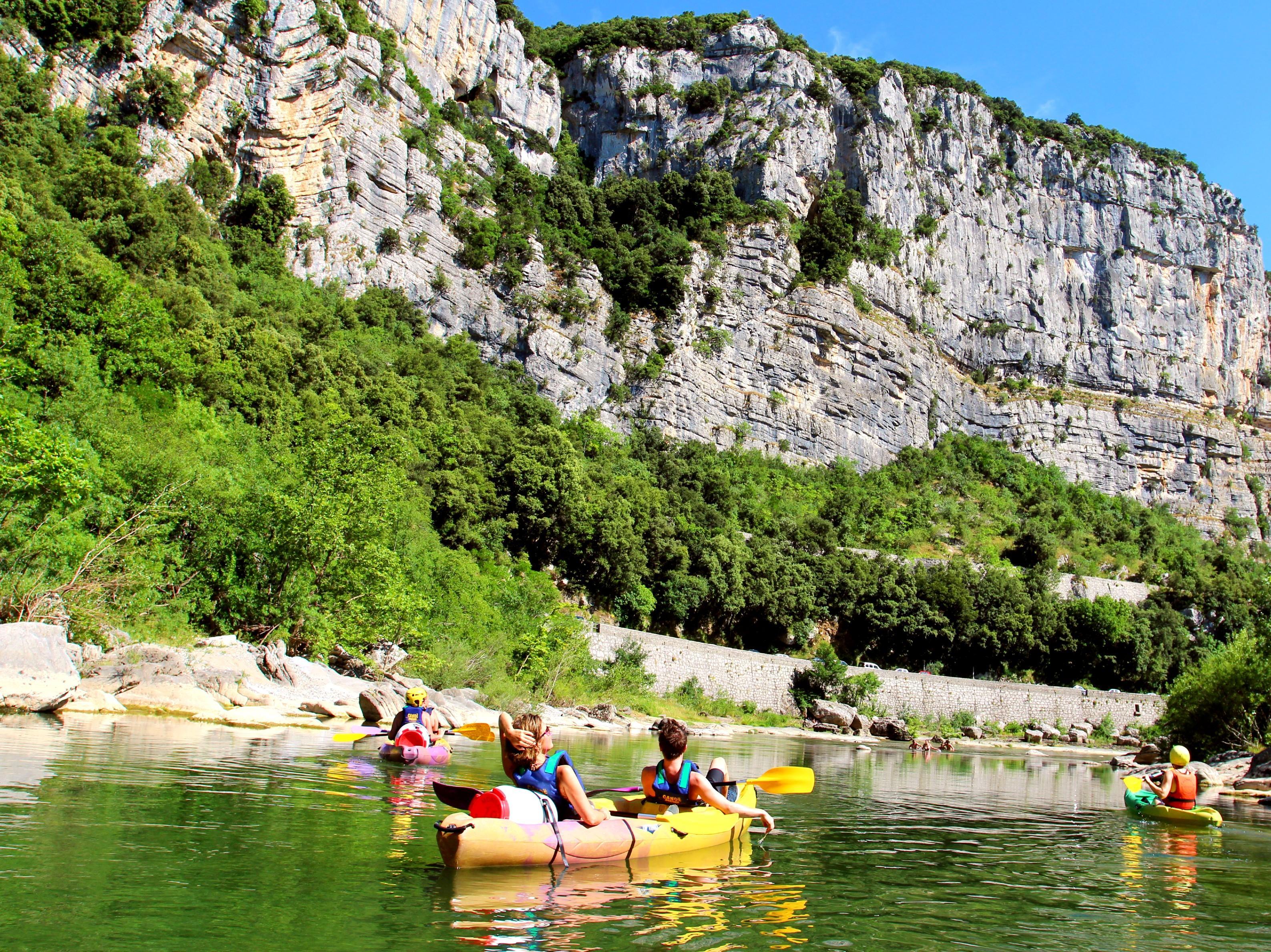Eenvoudige Kanoën in Agonès - Gorges de l'Hérault