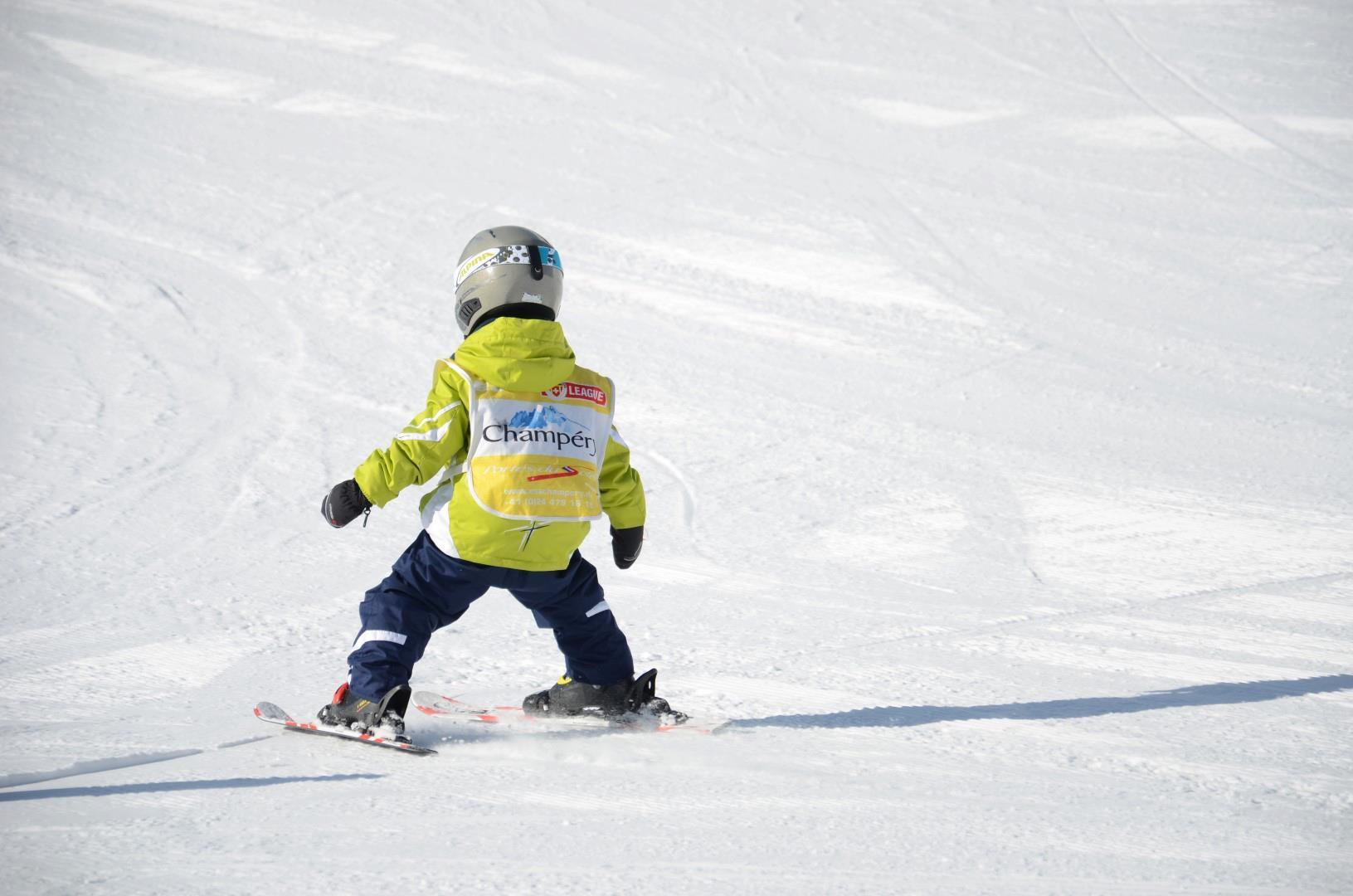 Cours particulier de ski Enfants (3-4 ans)