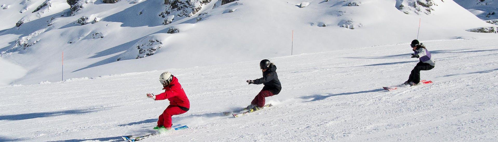 Cours de ski Ados et Adultes pour Tous niveaux
