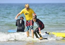 Surflessen in Somo vanaf 6 jaar voor alle niveaus