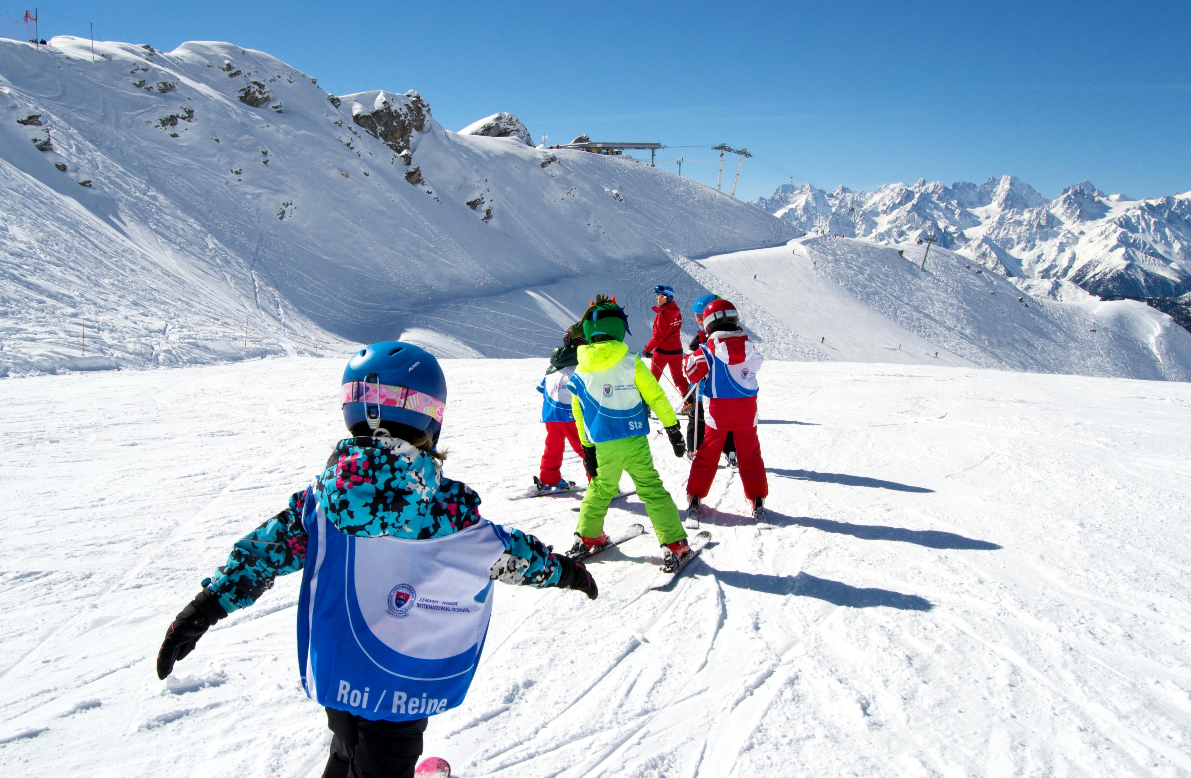 Cours de ski Enfants (6-13 ans) pour Tous niveaux