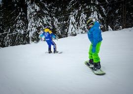 Cours particulier de snowboard dès 4 ans pour Tous niveaux avec Crystal Ski