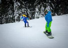 "Private Snowboarding Lessons for Kids ""All-in-One"""