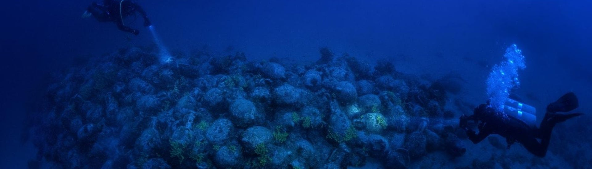 Wreck Diving - Recently Discovered Roman Shipwreck - Pag