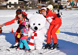 Bambini Ski Lessons (3-4 y.) for All Levels