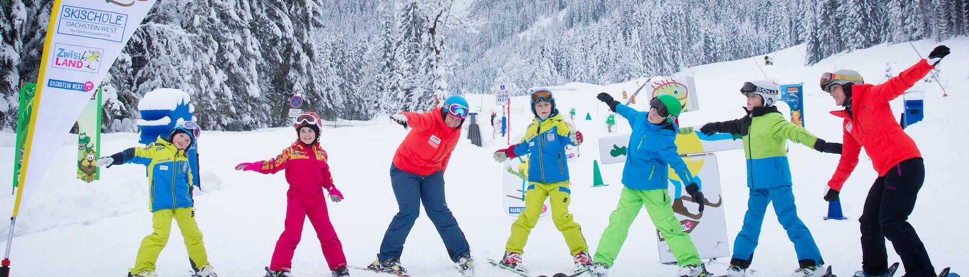 Skilessen voor kinderen vanaf 3 jaar - vergevorderd