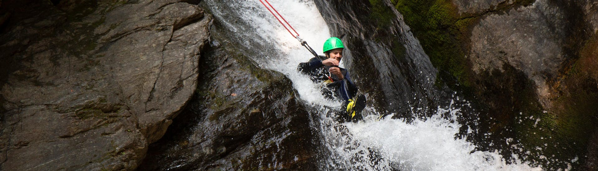 """Canyoning """"Wonderland"""" for Beginners - Beginner's Canyon"""