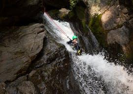 Eenvoudige Canyoning in Ried im Oberinntal met H2O Adventure Ried