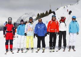 Skilessen voor volwassenen voor alle niveaus met Escuela Española de Esquí y Snowboard de Cerler