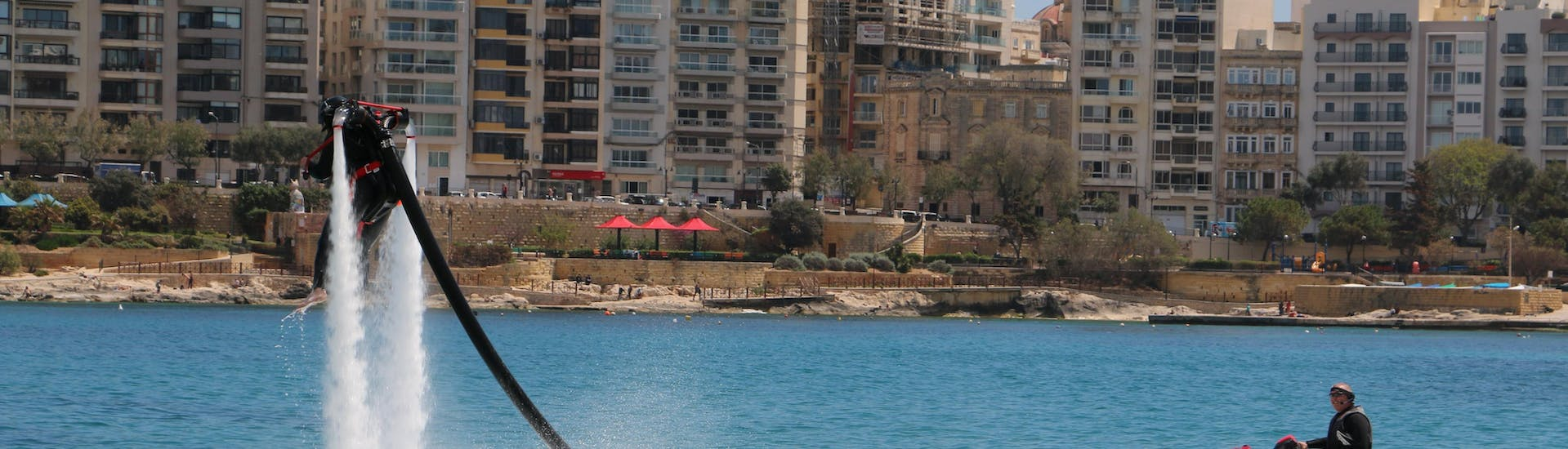 Flyboarding and Jetpack - Spinola Bay