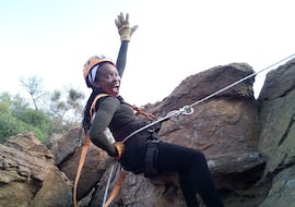 Abseiling & Rap Jumping near Pretoria in Cullinan