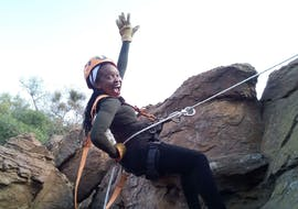 Abseiling & Rap Jumping near Pretoria in Cullinan with Adventure Zone Cullinan