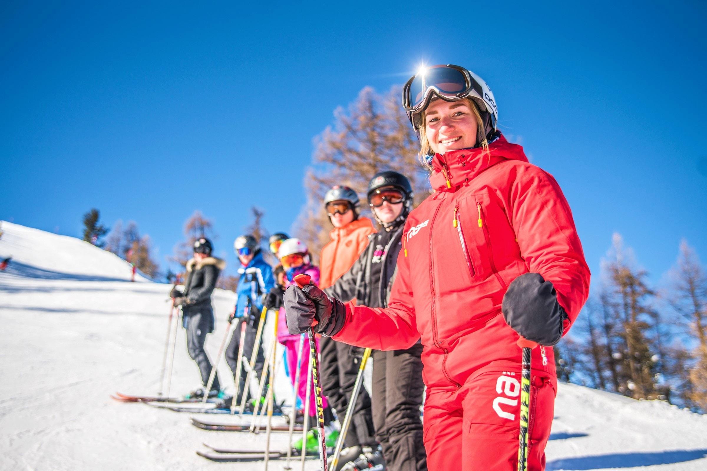 Cours de ski Ados & Adultes pour Tous niveaux - Nendaz