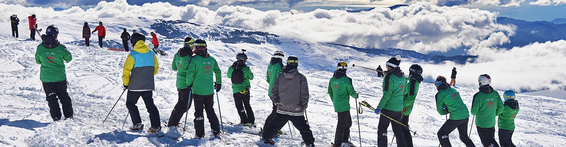 Clases Particulares de Esquí para Adultos de Todos Niveles