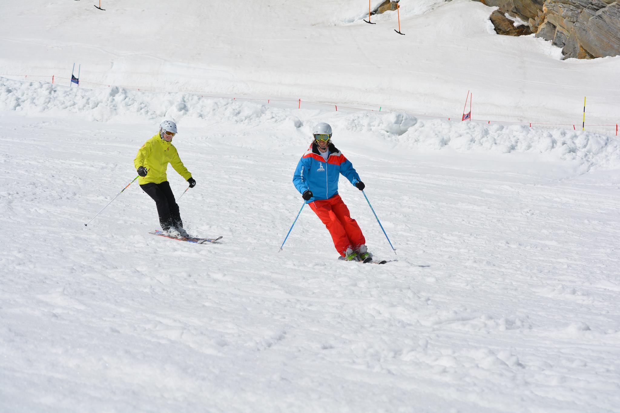 Skilessen voor volwassenen - Licht gevorderden
