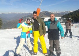Clases Particulares de Esquí para Adultos -Todos los Niveles