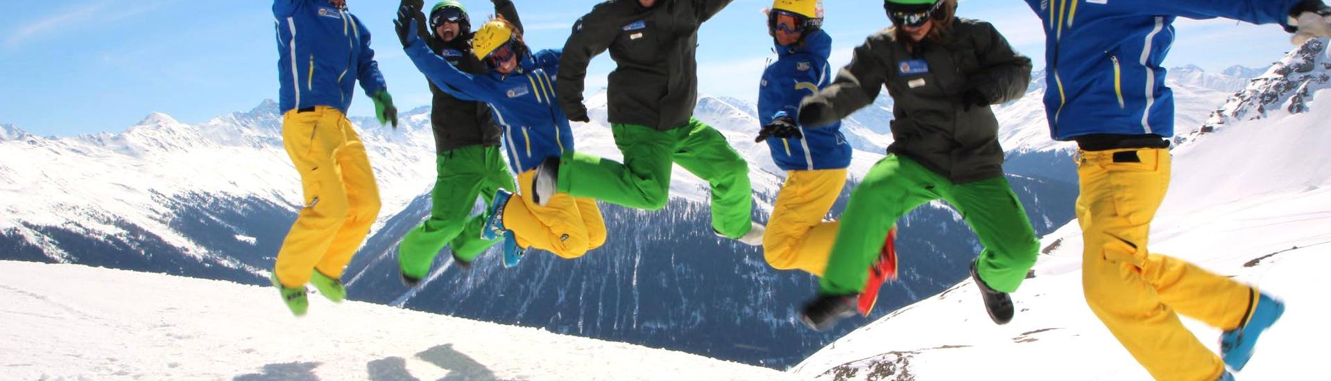 Ski Lessons for Teens (14-17 y.) - Advanced