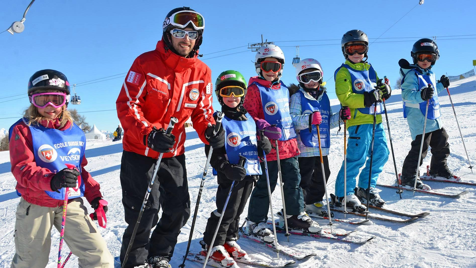 Cours de ski Enfants (6-12 ans) pour Expérimentés - Journée